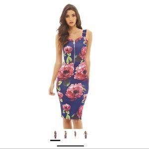 AX Paris Floral Bodycon Dress
